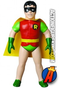 10-inch scale Sofubi ROBIN Figure from Medicom.