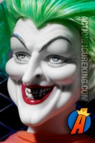 Tonner Arkham Asylum Joker dressed figure.