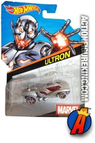 Marvel's Ultron as a die-cast car from Hot Wheels.
