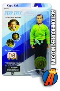 2018 MEGO STAR TREK 8-INCH CAPT. KIRK ACTION FIGURE with GREEN SHIRT