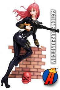 MARVEL Kotobukiya Avengers BLACK WIDOW Bishoujo figure.