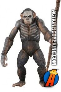 NECA Dawn of the Planet of the Apes Series 1 Caesar action figure.