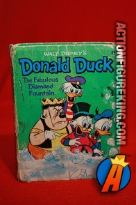 Donald Duck: The Fabulous Diamond Fountain A Big Little Book from Whitman.