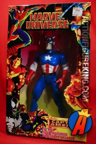 Articulated Marvel Universe 10-inch Captain America action figure from Toybiz.