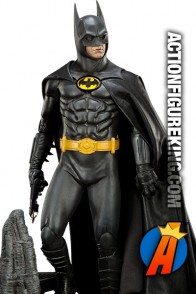 Sideshow Collectibles Sixth-Scale Michael Keaton Batman from the 1989 movie.