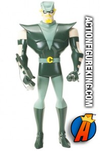 Justice League Animated 10-inch scale Green Arrow roto figure.