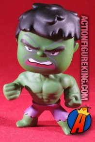 2.5-inch Funko Marvel Mystery Minis Incredible Hulk figure.