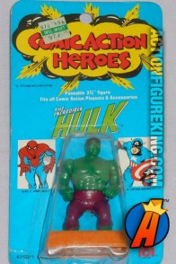 Mego Comic Action Heroes Incredible Hulk figure.