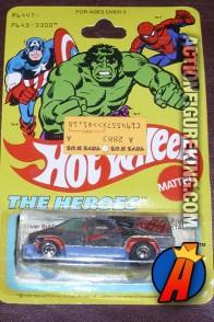 Hot Wheels Silver Surfer die-cast van circa 1978.