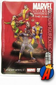 Marvel Universe 35mm metal X-MEN figures from Knight Models.
