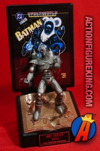 DC Comics Comic Book Champions Pewter MR. FREEZE Figure.
