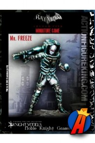 Knight Models 35mm MR. FREEZE Miniature Metal Figure.