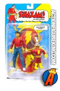 DC Direct 6-inch scale Billy Batson and Hoppy action figures.