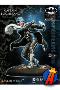 Knight Models 35mm CAPTAIN BOOMERANG Miniature Metal Figure.