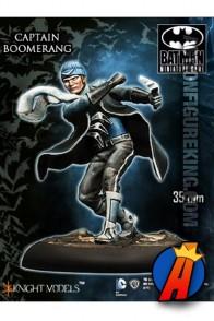Knight Models 35mm CAPTAIN BOOMERANG Miniature Metal Figure.