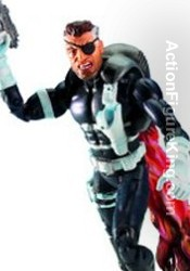 Marvel Legends Series 5 Nick Fury Action Figure from Toybiz.