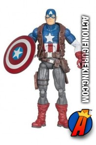 Marvel Legends Ultimates Captain America action figure from Hasbro.