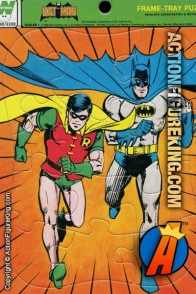 Batman and Robin 12-piece frame-tray puzzle from Whitman.