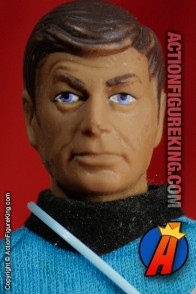Mego 8 inch Star Trek Doctor Bones McCoy action figure.