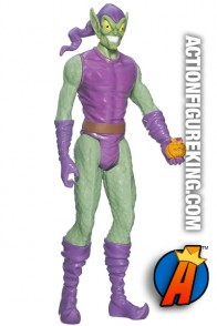 Titan Hero Series 12-inch scale Green Goblin figure.