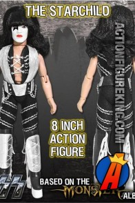 KISS The Starchild Action Figure from Monster Series 4 by Figures Toy Company.