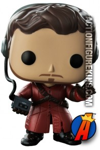 Funko Pop! Marvel Guardians of the Galaxy STAR-LORD with Mixed Tape Figure.