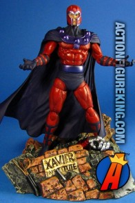 Fully articulated Marvel Select Magneto action figure from Diamond.
