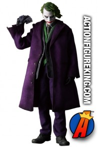 Sixth-Scale BATMAN: THE DARK KNIGHT JOKER RAH action figure from MEDICOM.