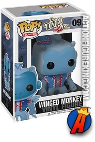A packaged sample of this Funko Pop! Movies Wizard of Oz Winged Monkey vinyl figure.