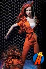 Tonner Arkham Asylum Poison Ivy figure.