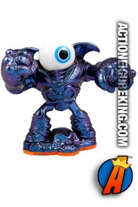 Skylanders Giants variant Purple Eye Brawl figure from Activsiion.