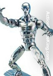 Marvel Legends Series 5 Silver Surfer Action Figure from Toybiz.