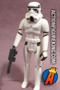 Vintage Star Wars Stormtropper action figure from Kenner circa 1978.