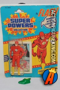 A packaged sample of this Kenner Super Powers Flash figure.