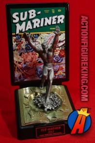 MARVEL COMICS Comic Book Champions Pewter Savage Sub-Mariner Figure.
