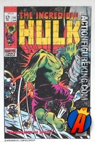 10 of 24 from the 1978 Drake's Cakes Hulk comics cover series.