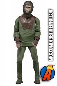 Neca Planet of the Apes 7-inch Cornelius action figure.