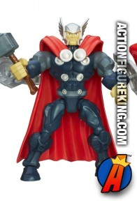 Fully artciulated 6-inch Marvel Super Hero Mashers Thor aciton figure from Hasbro.
