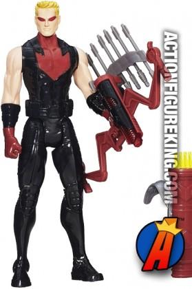 Hasbro Titan Hero Series sixth-scale Lightening Bow HAWKEYE figure.