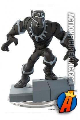 Disney Infinity 3.0 Black Panther Civil War figure and gamepiece.