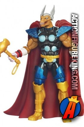 Marvel Universe 3.75 2012 Series One Beta Ray Bill action figure from Hasbro.
