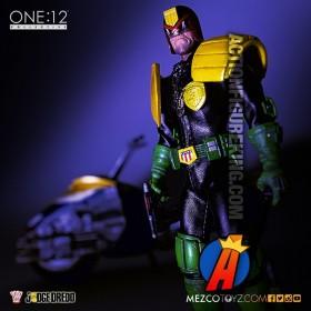 MEZCO 1:12 Collective 6-inch scale JUDGE DREDD Action Figure.