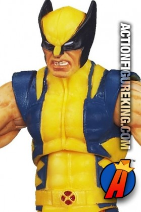 Fully articulated Marvel Universe 3.75 inch X-Men's Astonishing Wolverine action figure from Hasbro.