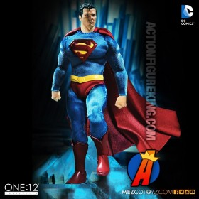 MEZCO One:12 Collective DC Comics Classic SUPERMAN Action Figure.