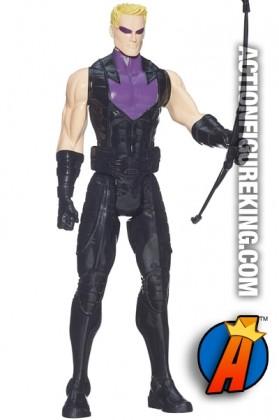 Titan Hero Series sixth-scale Hawkeye action figure.