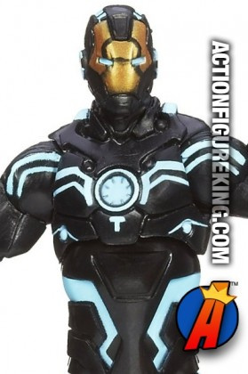 Marvel Universe 3.75 inch 2013 Series 04 Iron Man action figure from Hasbro.