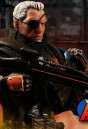 Fully articulated DC Comics DEATHSTROKE Action Figure with highly detailed cloth uniform.