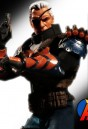 Mezco 6-Inch Scale DC Comics DEATHSTROKE Figure with highly detailed cloth uniform.