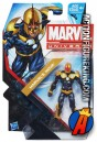 Packaged version of this Marvel Universe 3.75 inch fully articulated Nova action figure from Hasbro.