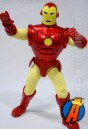 Taking a cue from Mego is this Marvel Famous Cover Series Iron Man figure from Toybiz.